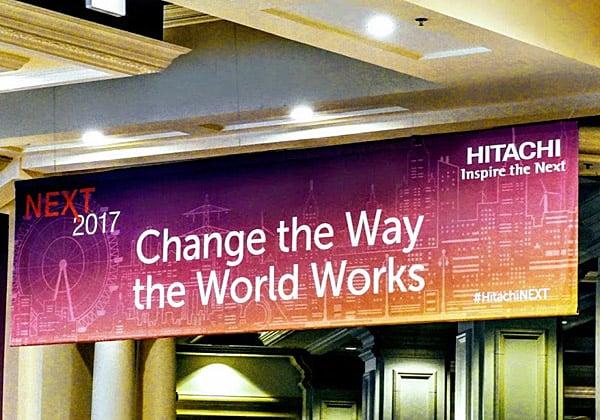 Next 2017, הכנס הראשון של Hitachi Vantara. השנה הוא מתקיים בלאס וגאס ובשנה הבאה - בסן דייגו