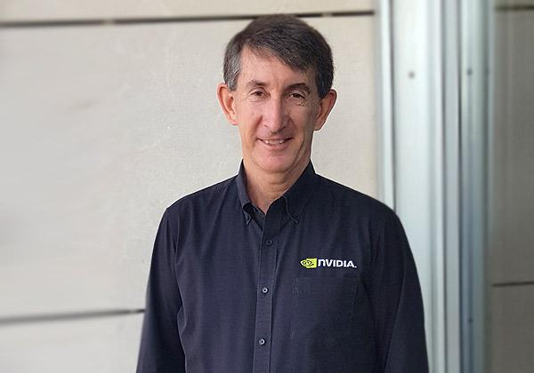 מארק המילטון, מנהל מחלקת הארכיטקטורה וההנדסה של Nvidia. צילום: צבי קצבורג