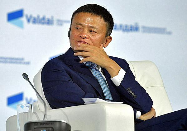 """לאן הוא נעלם? ג'ק מא, מייסד ויו""""ר עליבאבא הפורש. צילום: ממשלת רוסיה, www.kremlin.ru"""