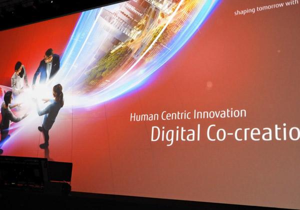 חדשנות מבוססת בני-אנוש במרכז העשייה הדיגיטלית המשותפת לפוג'יטסו וללקוחותיה. צילום: פלי הנמר