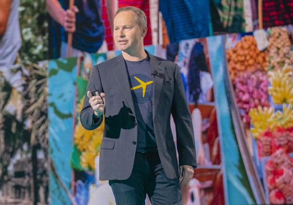 """מארק אוקרסטורם, מנכ''ל אקספידיה המפוטר. צילום: יח""""צ"""
