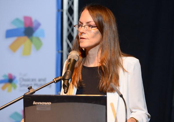 """ד""""ר ענת בונשטיין, ראשת מינהלת תחליפי דלקים ותחבורה חכמה במשרד ראש הממשלה. צילום: ניר שמול"""