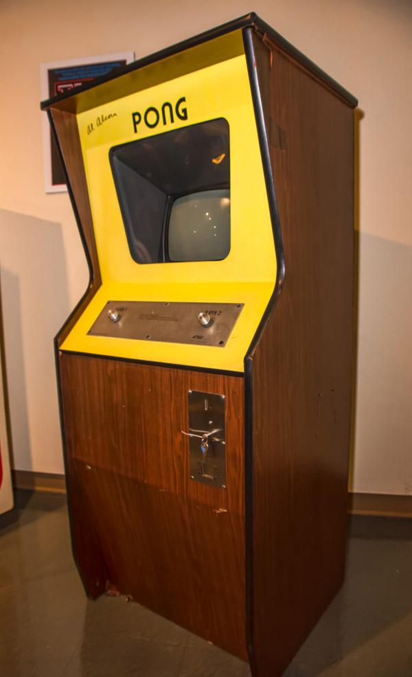 ה-Pong של אטארי. משם הכל התחיל. צילום: כריס ראנד, מתוך ויקיפדיה