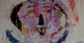 ציור של עופר עוז מתוך התערוכה דו שיח בעיר