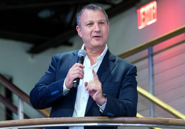 """ד""""ר אראל מרגלית, יזם ומייסד קרן JVP. צילום: יח""""צ"""