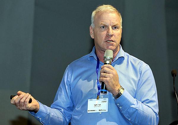 דני לקר, מנהל אבטחת המים וראש חטיבת החירום ברשות המים. צילום: ניב קנטור
