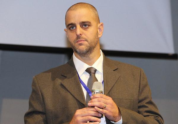 אורי שיין, מנהל תחום אבטחת מידע והגנת הסייבר בחירום, משרד התשתיות הלאומיות, האנרגיה והמים. צילום: ניב קנטור