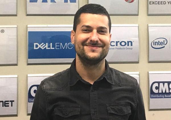 """אסי שהרבני, מנהל תחום גיבוי ואבטחת מידע ב-CMS. צילום: יח""""צ"""