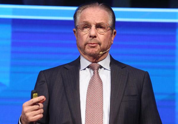 בוב האמר, נשיא ומנכ''ל קומוולט היוצא. צילום: ניב קנטור