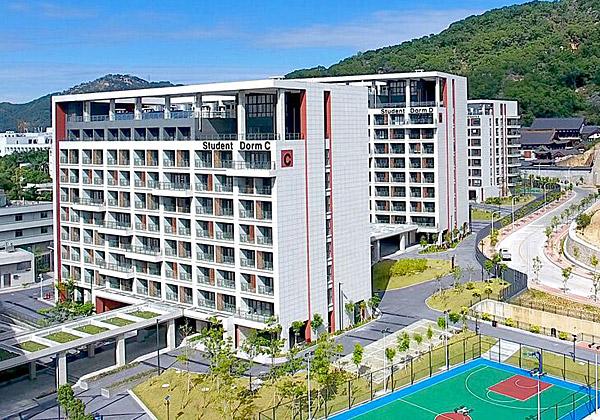 הקמפוס הישראלי-סיני במחוז גואנגדונג. צילום: צ'ן שי