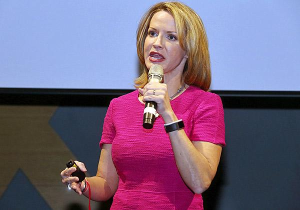 קייסי קולמן, סגנית נשיא עולמית למגזר הממשלתי-ציבורי ב-Salesforce. צילום: ניב קנטור