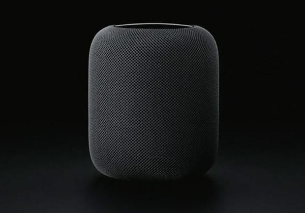 ה-HomePod של אפל. צילום: יח