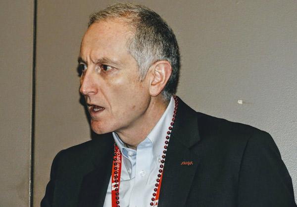 """לאורנט פילוננקו, סגן נשיא בכיר ומנכ""""ל חטיבת פתרונות וטכנולוגיה של אוויה. צילום: פלי הנמר"""