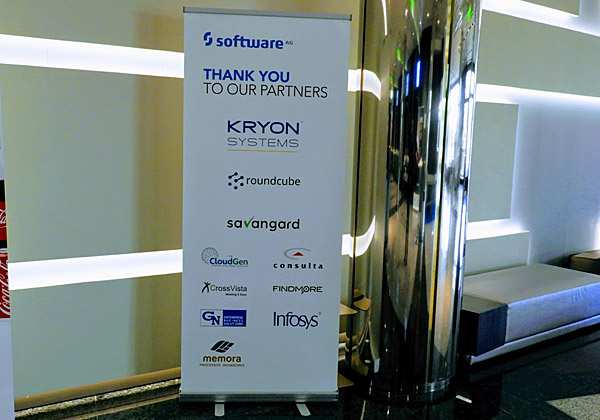 לעתים רחוקות, חברה ישראלית נמצאת בין נותנות החסות המרכזיות בכנס של חברה בינלאומית. Kryon Systems עשתה זאת בכנס פתיחת השנה של Software AG