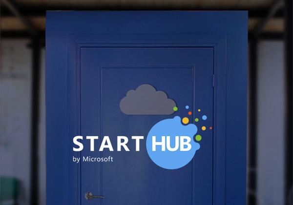 """פותחים את השער לסטארט-אפים. מתחם ה-StartHub של מיקרוסופט בתל אביב. צילום: יח""""צ"""