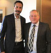 "מנכ""ל Infor הגיע לישראל ונפגש עם מאיר גבעון, מנכ""ל GIV Solutions"