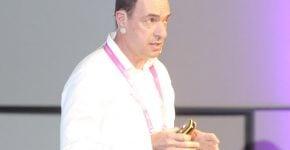 גבי זודיק, סמנכ״ל טכנולוגיות ומנהל פיתוח של מערכות ווטסון לתחום הצרכני, המו''פ העולמי של יבמ. צילום: ליאת מנדל