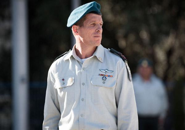 """ראש אגף התקשוב וההגנה בסייבר היוצא, אלוף נדב פדן. צילום: דובר צה""""ל"""