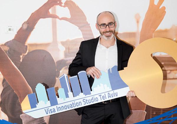 """שחר פרידמן, מנהל מעבדת החדשנות של ויזה (Visa) בת""""א. צילום: רמי זרנגר"""