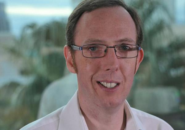 """תים הוד, מנהל מכירות EMEA ב-Hyland. צילום: יח""""צ"""