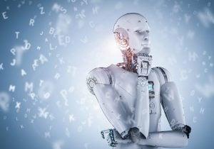 מרכיבים אלמנטריים במפעל החכם. רובוטיקה ובינה מלאכותית. צילום: Phonlamaiphoto/BigStock