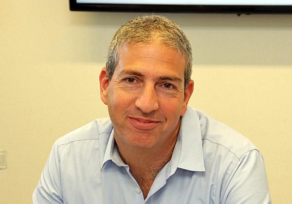 אסף גבעתי, מנהל התפעול הראשי של מטריקס ומנהל חברות בנות של החברה. צילום: יניב פאר