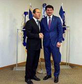 """ראש עיריית טביליסי נפגש עם ברקת וחולדאי – כדי לקדם שת""""פ טכנולוגי"""