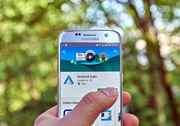 נסיעה טובה. Android Auto. צילום: דנזין, BigStock