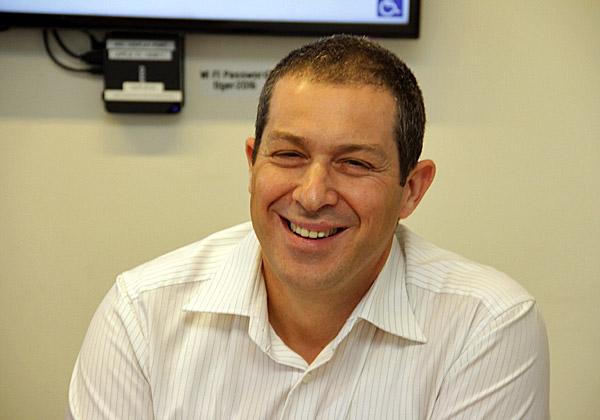 גדי הורנשטיין, ראש ענף האינטרנט של הדברים והתחבורה ברשות החדשנות. צילום: יניב פאר