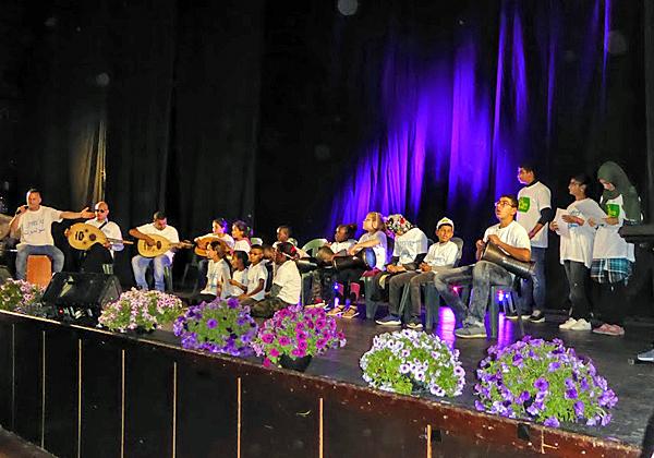 """מופע של להקת שגב שלום: שבע דקות לכבוד 70 שנים לישראל. צילום: יח""""צ"""
