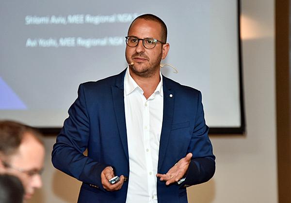 שלומי אביב, מנהל מכירות אזורי לאגן הים התיכון ומרכז ומזרח אירופה ב-VMware. צילום: לידור עראקי