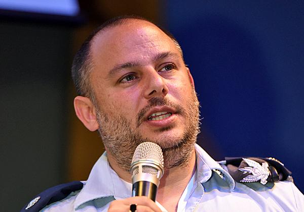 """רס""""ן דוד אלקחר, ראש תחום CTO בבסיס 108 של חיל האוויר. צילום: שי פיירשטיין"""