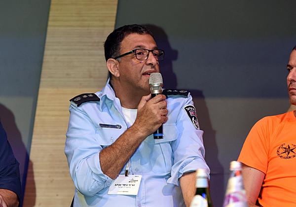 """נצ""""מ עופר שנהב, ראש מפא""""ט במנהל הטכנולוגיות של המשטרה. צילום: שי פיירשטיין"""