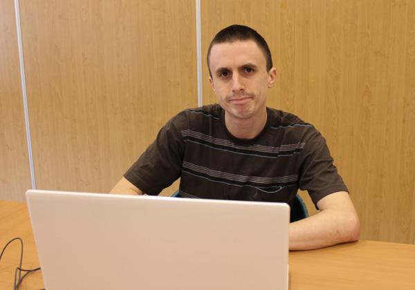 """דניאל קפלן, ממסיימי התכנית בבית איזי שפירא. צילום: יח""""צ"""