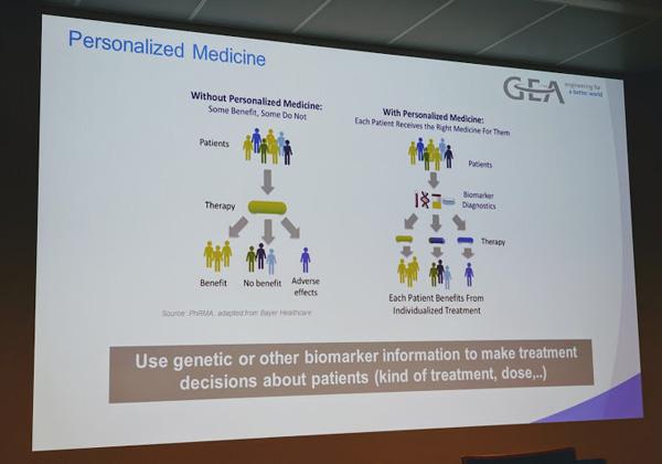 תמציתה של התרופה האישית לחולה: התאמה למידע הגנטי או מידע אחר של כל חולה בנפרד. צילום: פלי הנמר