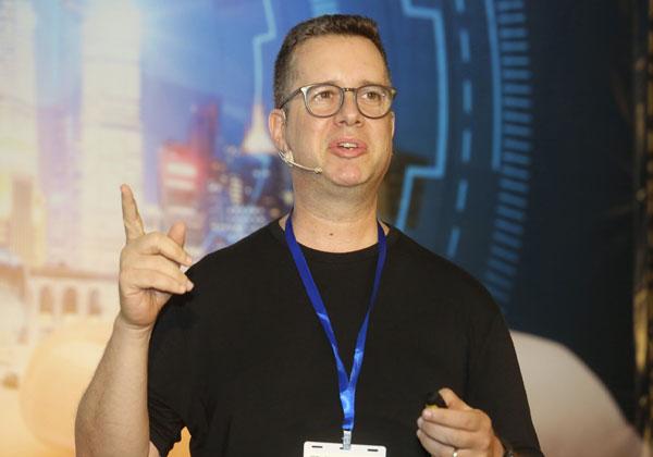 עדי דיאמנט, מנהל מעבדת החדשנות במרכז המו''פ של מיקרוסופט בישראל. צילום: ניב קנטור