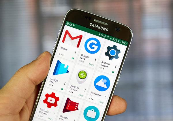 Google Play, חנות האפליקציות של גוגל. צילום: BigStock