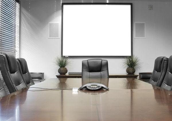 תצוגות לוח חכמות לשימוש בחדרי ישיבות. צילום: BigStock