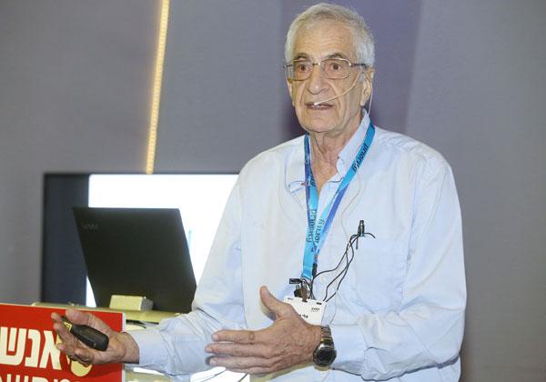 ד''ר אלי מירון, מרצה לניהול ידע באוניברסיטת בן גוריון צילום: ניב קנטור