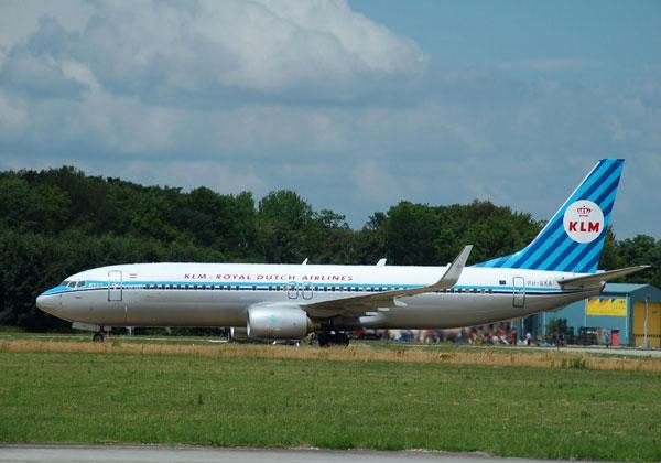 מטוס חברת התעופה KLM. קרדיט צילום: pixabay
