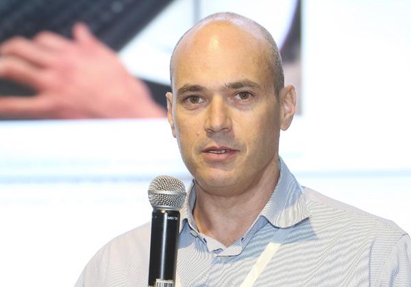 """מאיר אדלר, סמנכ""""ל הטכנולוגיות של CA ישראל ב-NessPRO צילום: ניב קנטור"""