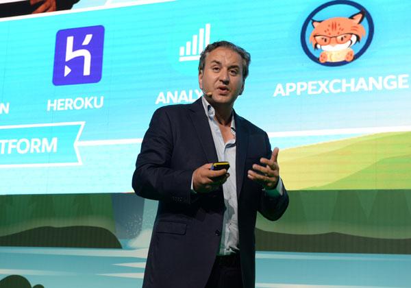 """אוליביה אלבז, סגן נשיא אזורי וסמנכ""""ל מכירות Salesforce ישראל. צילום: קובי קואנקס"""