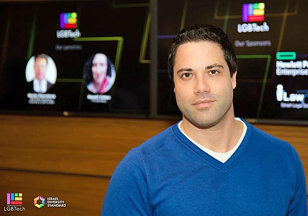 אדיר רון, מנהל תחום הקוד הפתוח במיקרוסופט ישראל. צילום: יונתן עידו