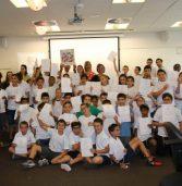 """70 תלמידים מלוד סיימו קורס """"סייבר ויצרנות דיגיטלית"""""""