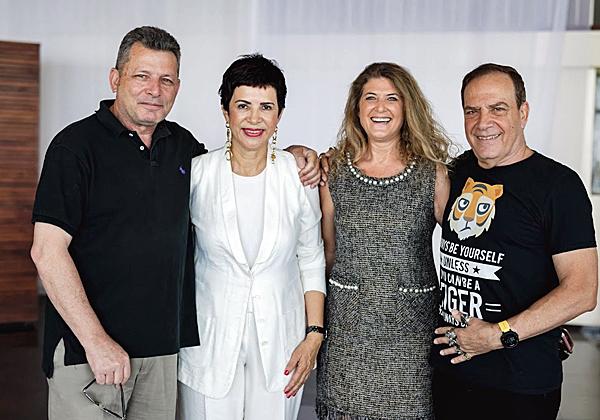 """עם שירה פאיאנס-בירנבוים, סמנכ""""לית השיווק וה-COO של מיקרוסופט ישראל, ובני בירנבוים, הבעלים של B-Zone"""