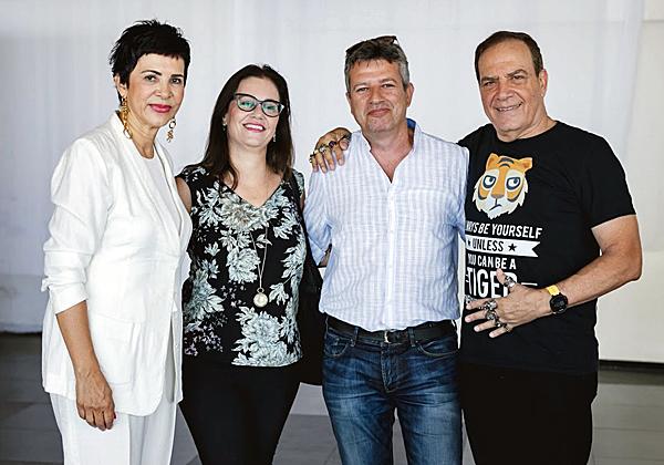 """עם רו""""ח ירון פלד, שותף ומנכ""""ל חטיבת הייעוץ של BDO, ואשתו, גלי קובו"""