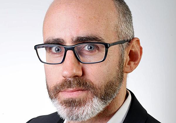 שחר פרידמן, מנהל מרכז החדשנות של ויזה בישראל. צילום: שחר זרנגר