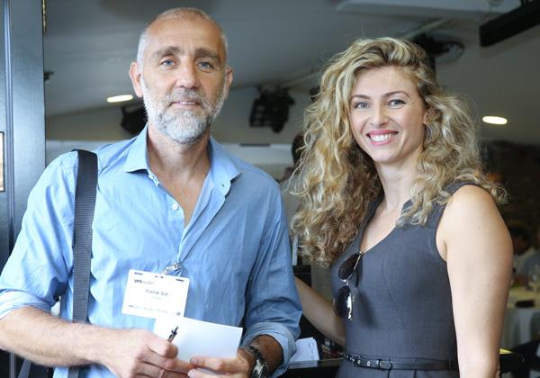 """מימין: שלי טאוב, מנהלת Manager ב-VMware ישראל; ופרנק סידי, מנכ""""ל פיבוטל. צילום: ניב קנטור"""