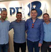 בכירים ב-SolarWinds ובפרולוג'יק ביקרו בבזק בינלאומי