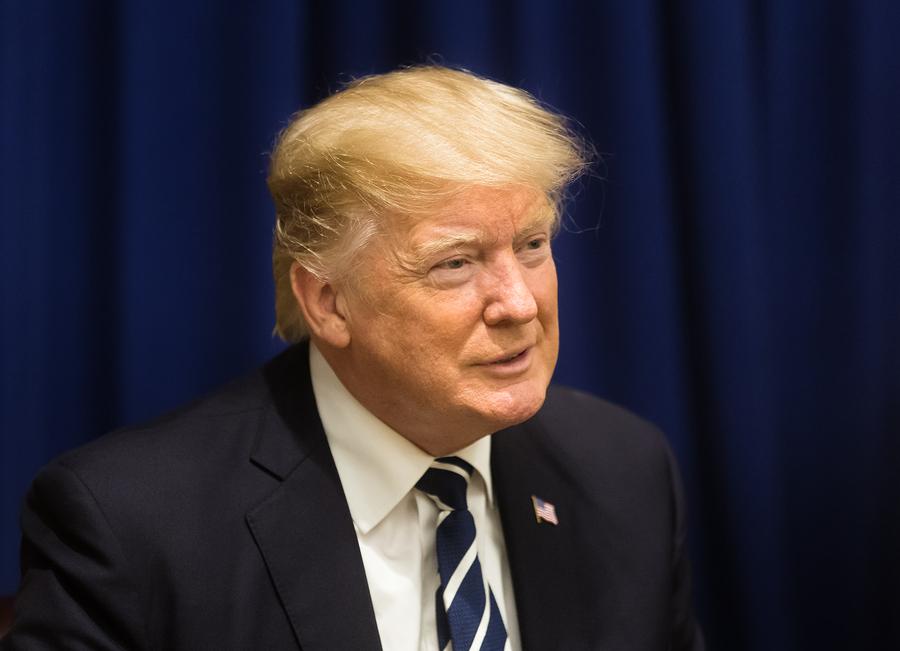 הגיב. נשיא ארצות הברית, דונלד טראמפ. צילום: BigStock